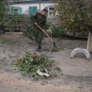 Аварийно-восстановительные работы в станице Должанской